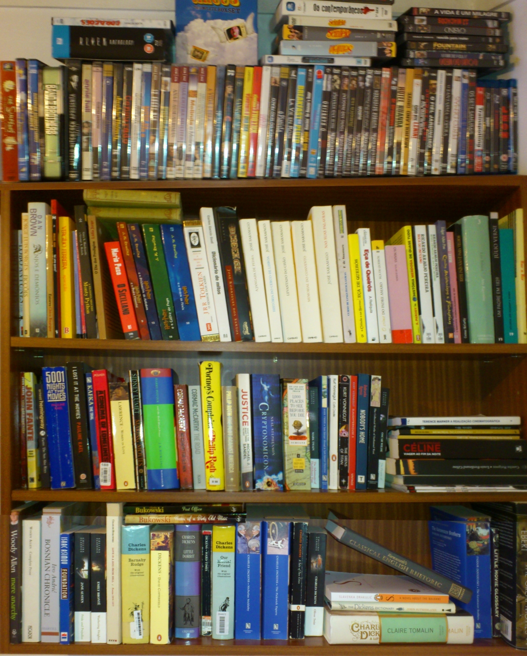 Mostly books I own