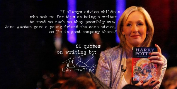 (Click the image) for 19 more of J.K.Rowling's quotes on writing
