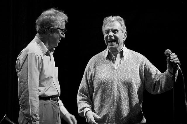 Woody Allen and Mort Sahl