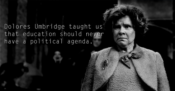 Dolores Umbridge - See the 30 Things That Harry Potter taught us