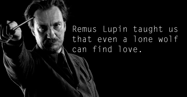 Remus Lupin - See the 30 Things That Harry Potter taught us