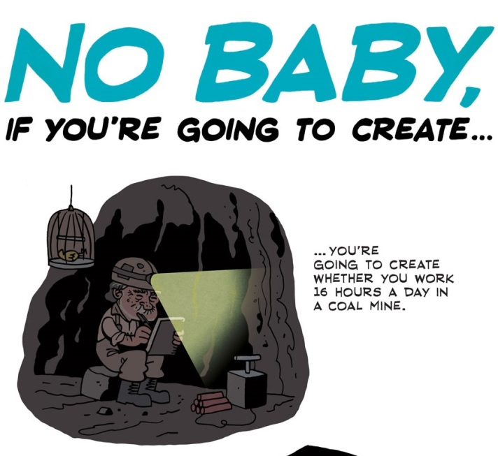 [see the full] Bukowski Comic 5
