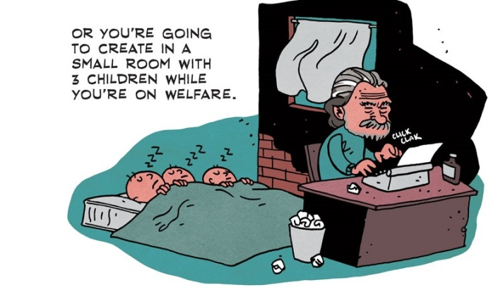 [see the full] Bukowski Comic 6