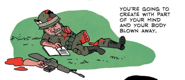[see the full] Bukowski Comic 7