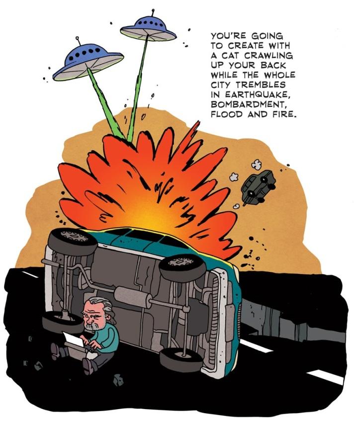 [see the full] Bukowski Comic 9
