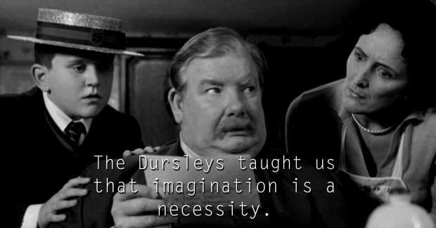 The Dursleys - See the 30 Things That Harry Potter taught us