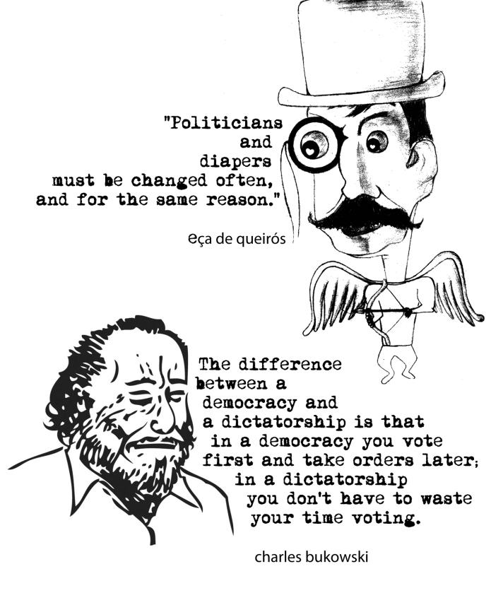 Bukowski and Eça