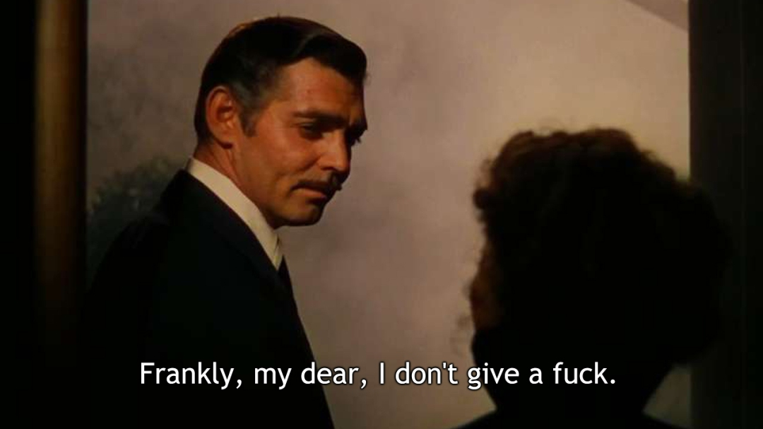 Gone with the Wind [Click for more] updated classic movie quotes