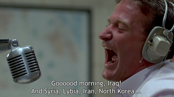 Good Morning Vietnam [Click for more] updated classic movie quotes