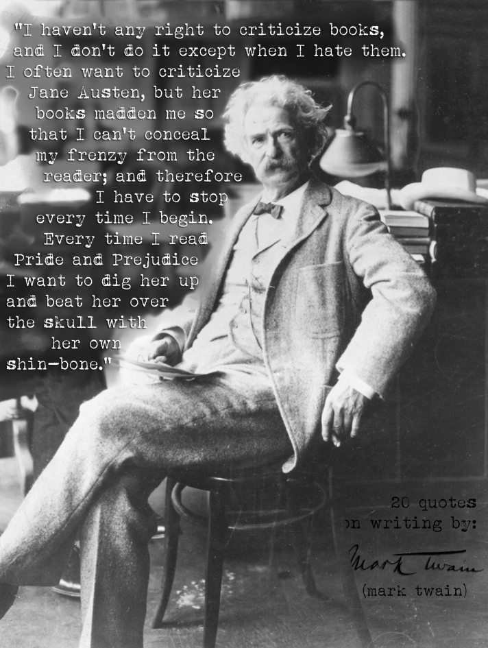 mark twain research essay